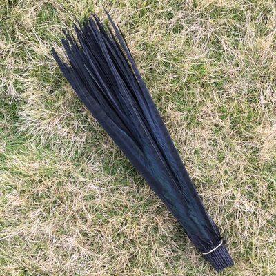 Декоративные перья Pheasаnt 40-45 см. (Хвост) 1 шт. Черного цвета