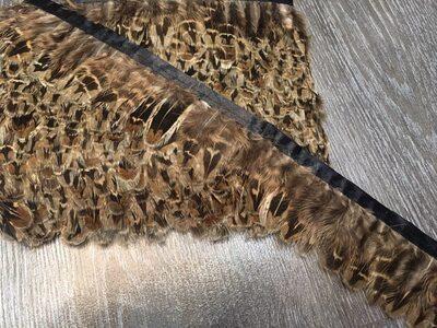 Декоративная тесьма из перьев 4-5 см, 1м. #7
