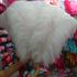 Премиум перья страуса 60-65 см. Белый цвет